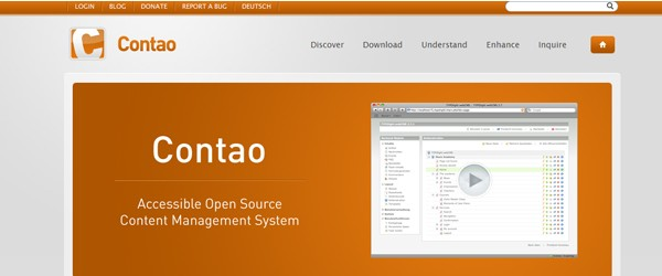 Top 15  Content Management systems (CMS)-contao