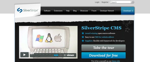 Top 15  Content Management systems (CMS)-silverstripe