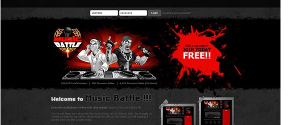 creative-login-pages-designs-for-inspiration-musicbattle