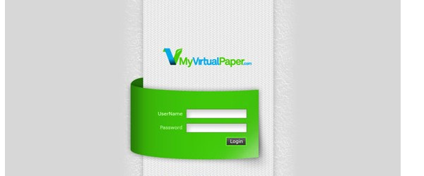 creative login pages designs for inspiration-virtuallogin