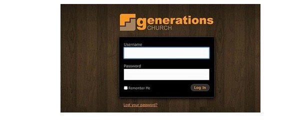 creative login pages designs for inspiration-wplogin