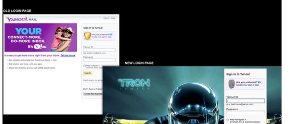 creative login pages designs for inspiration-yahoologin