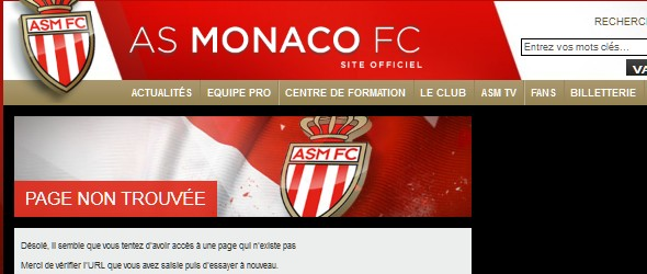 football club websites for inspiration-asmonaco