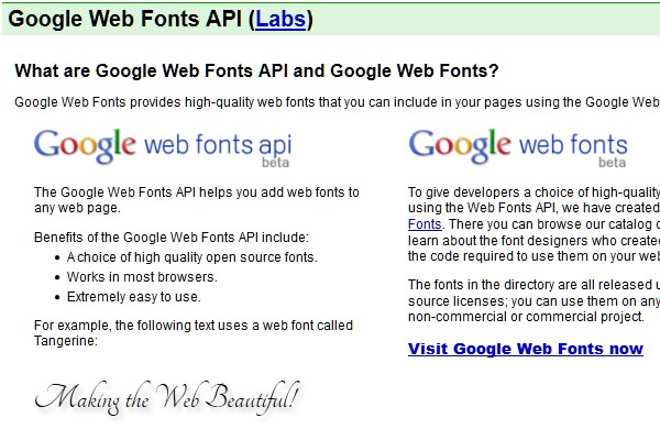 20 Useful APIs For Web Designers And Developers-googlewebfontsapi