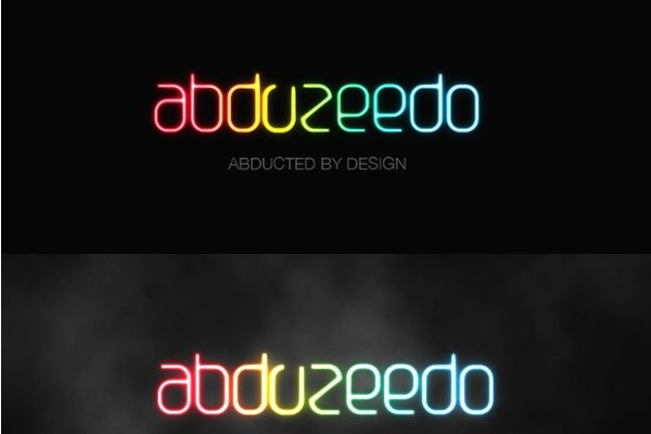 25 Text Effect Tutorials-abduzeedo