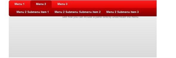 CSS3 Menu and Navigation Tutorials-horizontaldropline