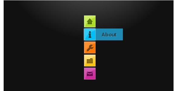 CSS3 Menu and Navigation Tutorials-minimalisticnavigationmenu