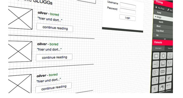 Excellent Tools for Creating Web Design Wireframes-hotgloo