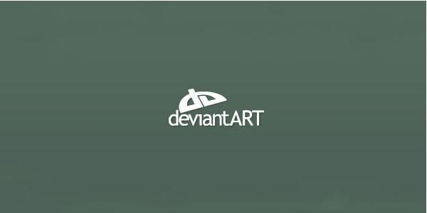 Fonts Used in Logo of Popular Websites-deviantart