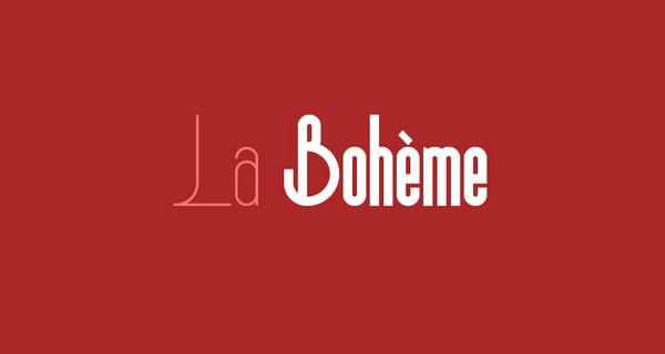 Free Fonts Of 2011-boheme