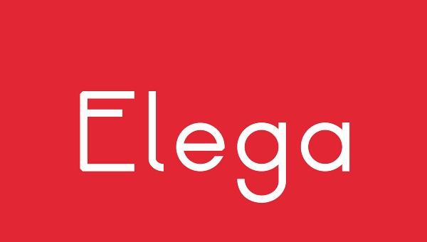 Free Fonts Of 2011-elega