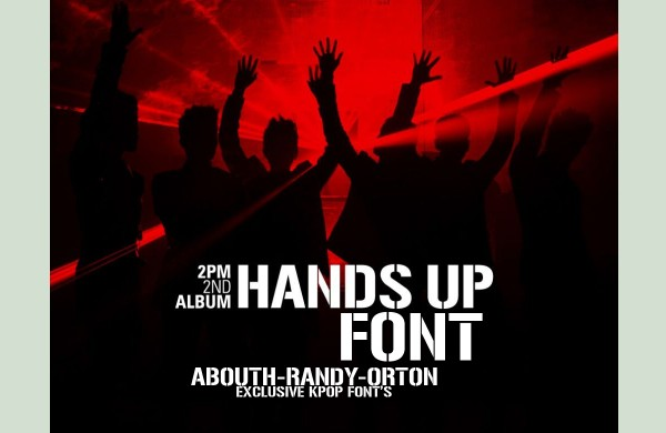 Free Fonts Of 2011-handsup
