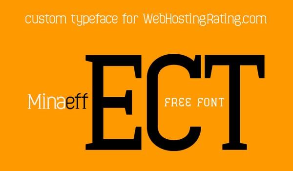 Free Fonts Of 2011-minaeff