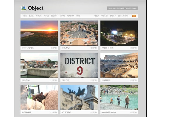 Free WordPress Video Themes-object