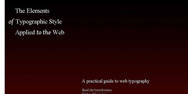 Free e-Books for Developers and Designers-thetypographyicelements