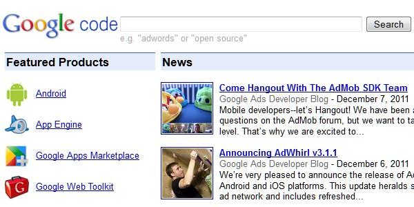 Google Website Tools for Developer-googlecode