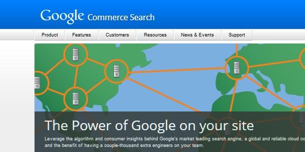 Google Website Tools for Developer-googlecommercesearch