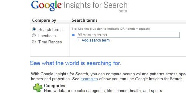 Google Website Tools for Developer-googleinsight