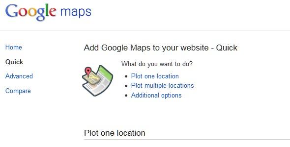 Google Website Tools for Developer-googlemaps