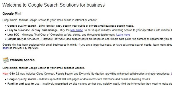 Google Website Tools for Developer-googlemini