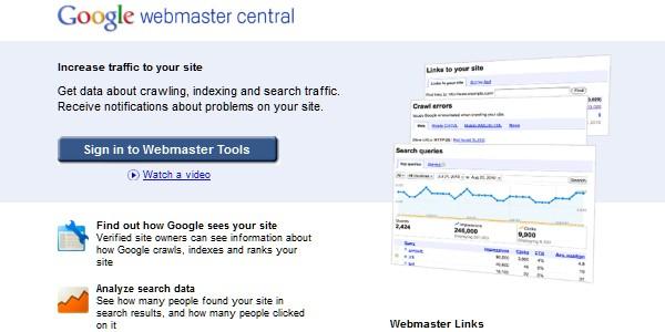 Google Website Tools for Developer-googlewebmastercentral