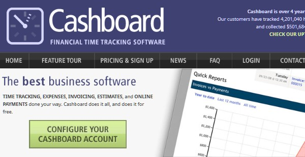 Invoicing Tools For Freelancers-cashboard