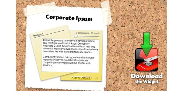 Online Lorem Ipsum Generators-corporateipsum