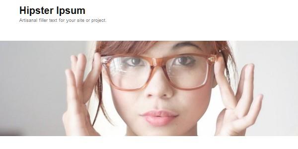 Online Lorem Ipsum Generators-hipsteripsum