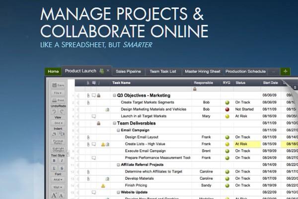 Project Management Apps for Freelancers and Designers-smartsheet