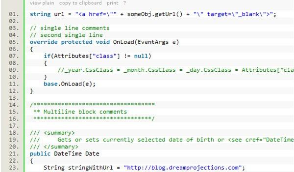 Really Useful JavaScript Tutorials-syntaxhighlighter