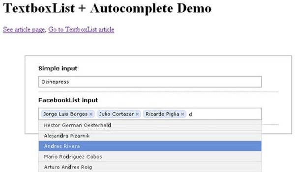 Really Useful JavaScript Tutorials-textboxlist