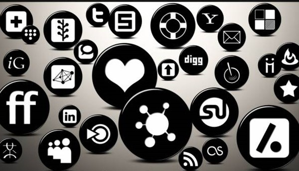 Social Media Icon Packs-3dglossyicon