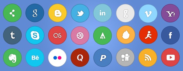 Social Media Icon Packs-simplito