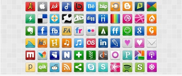 Social Media Icon Packs-socialshift