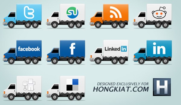 Social Media Icon Packs-truckicon