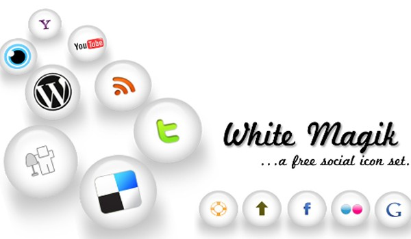 Social Media Icon Packs-whitemagik