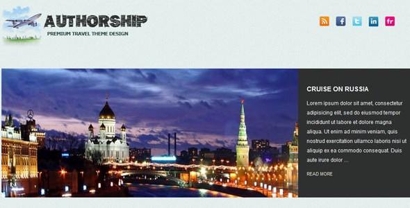 Travel WordPress Themes-authorship