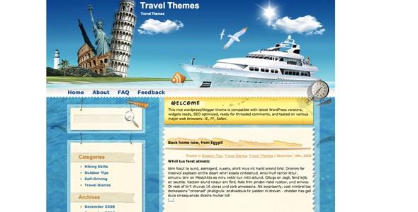 Travel WordPress Themes-cruisetheme