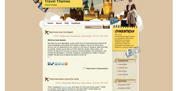 Travel WordPress Themes-eurotravel