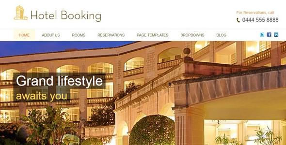 Travel WordPress Themes-hotelbooking