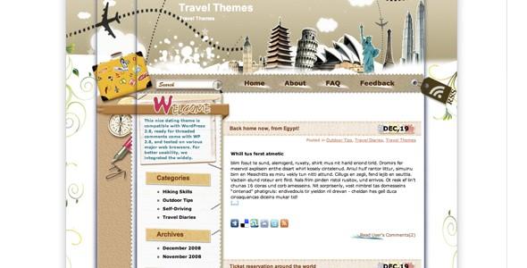 Travel WordPress Themes-internationaltravel