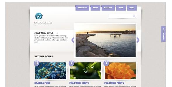 Travel WordPress Themes-paperplane
