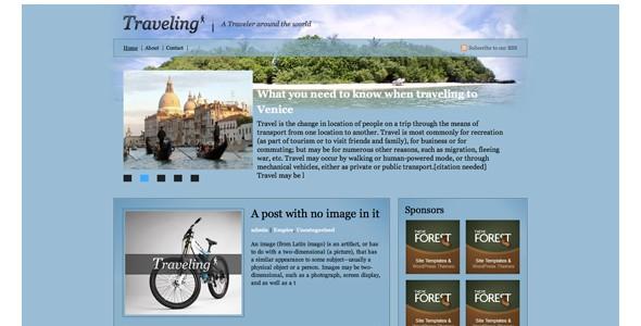 Travel WordPress Themes-traveling