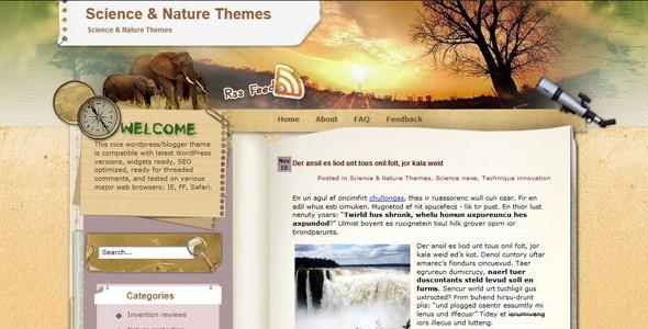 Travel WordPress Themes-wild