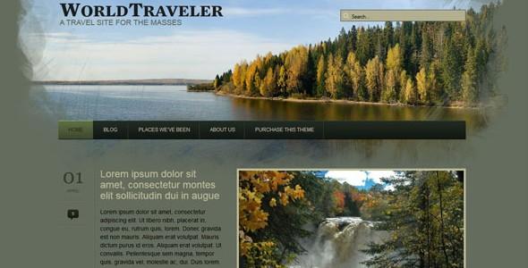 Travel WordPress Themes-worldtraveler