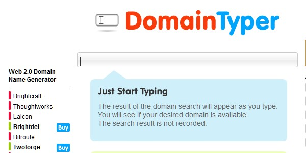 Useful Tools for Searching the Perfect Domain Name-domaintyper