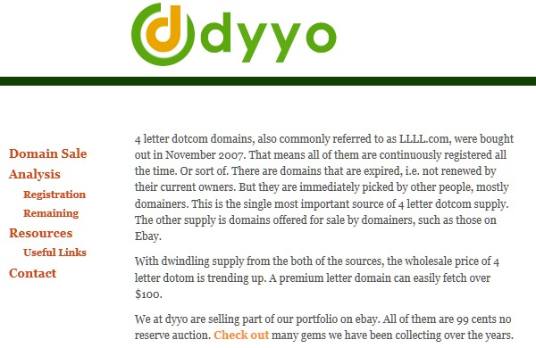 Useful Tools for Searching the Perfect Domain Name-dyyo