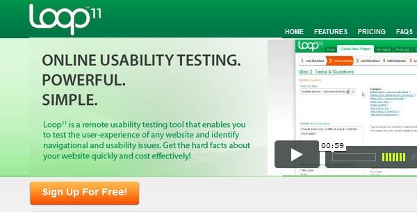 Web Usability Testing Tool-loop11