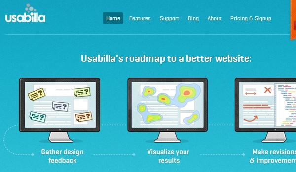Web Usability Testing Tool-usabilla