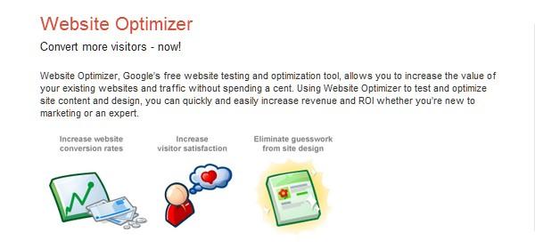 Web Usability Testing Tool-websiteoptimizer